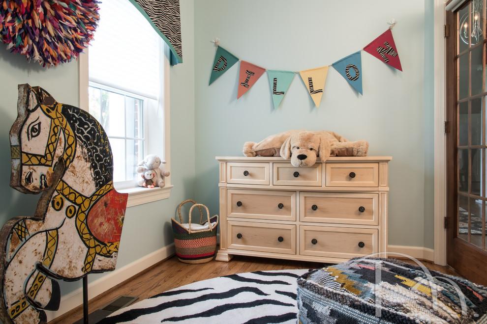 儿童房混搭风格效果图大全2017图片_土拨鼠完美纯净儿童房混搭风格装修设计效果图欣赏