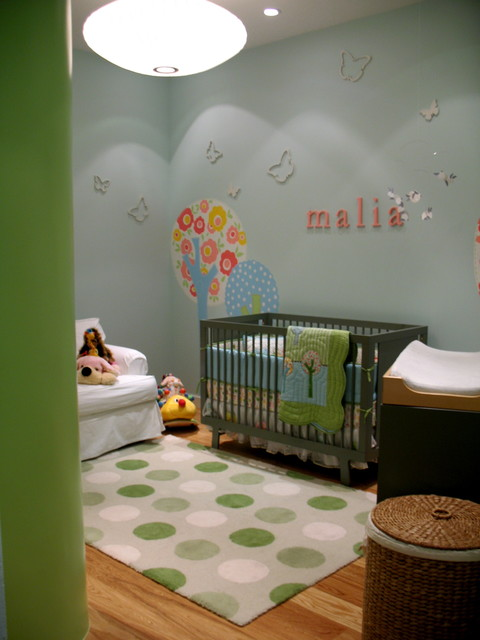 Malia Smith Nursery contemporary kids