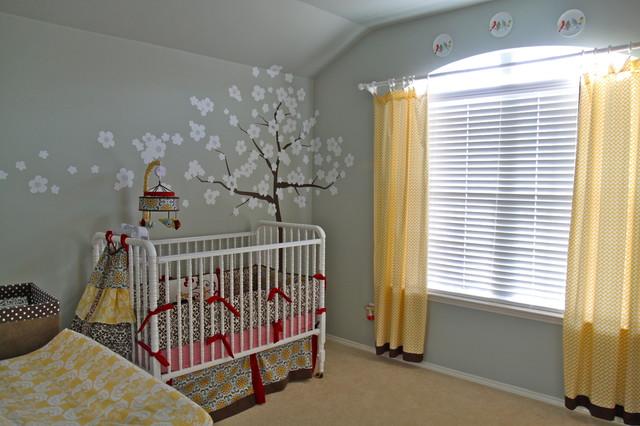 Malone's Quirky Nursery contemporary-nursery