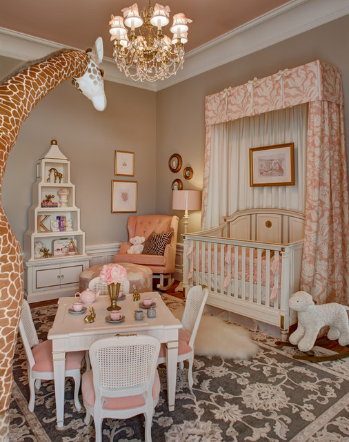 mansion in may 2014 la petite rose nursery traditional nursery - Chambre Rose Gold