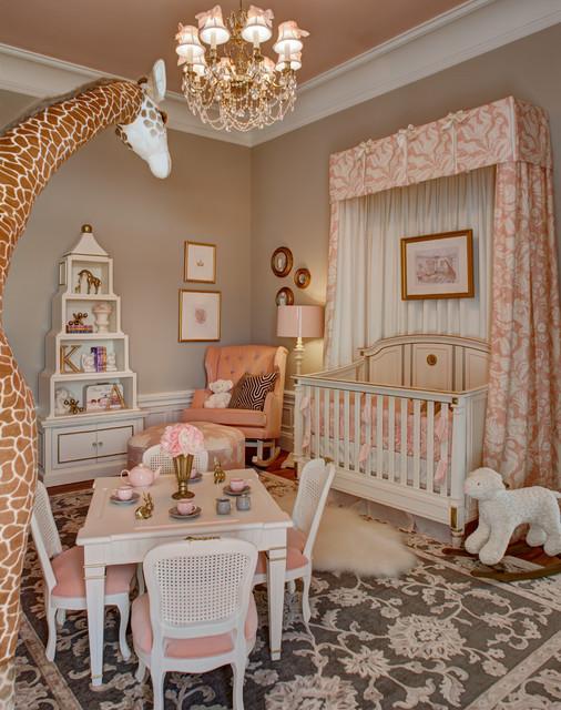 Mansion In May 2014 La Petite Rose Nursery Traditional Nursery New York By Kristin