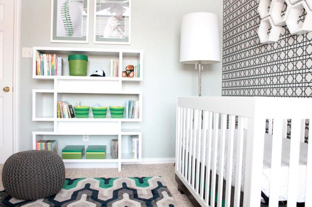 Modern Baby Boy Nursery Contemporary