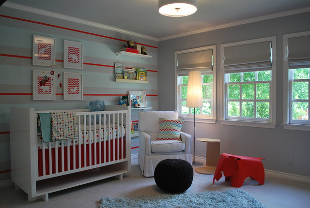 Modern Baby Boy Retreat contemporary kids