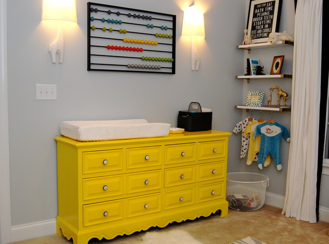 Modern Vintage Nursery contemporary-nursery