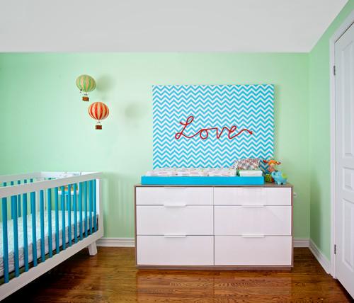 7 astuces pour intégrer du vert à une chambre de bébé