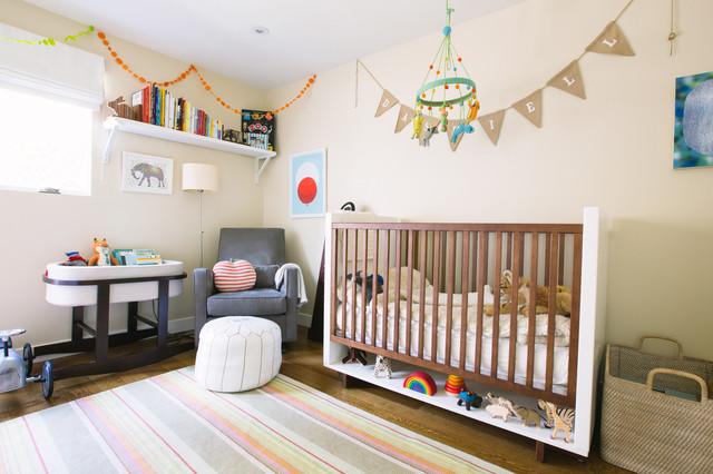 my houzz the podolls contemporain chambre de b b san francisco par nanette wong. Black Bedroom Furniture Sets. Home Design Ideas
