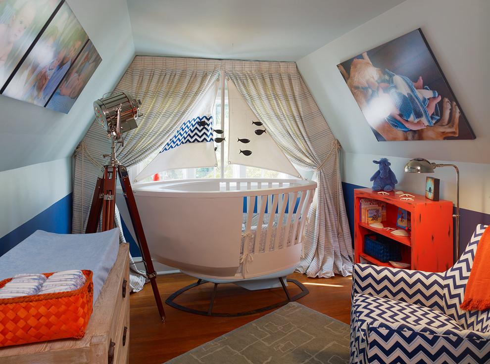 Nursery - coastal nursery idea in Philadelphia