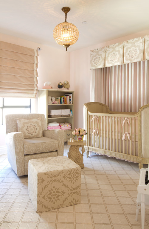 Neutral Girly Nursery
