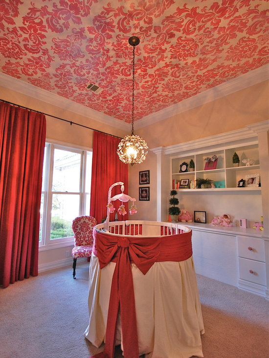 Elegant twin nursery : Baby girl nursery home design ideas, pictures, remodel and decor