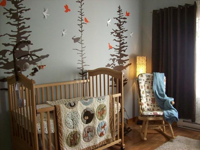 Nursery for Griffin - Montagne - Chambre de Bébé - Vancouver - par ...