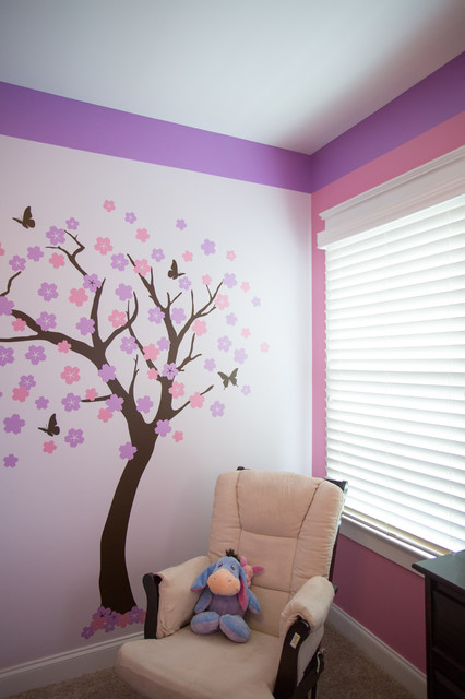 Nursery Little Girl 39 S Room Pink Purple W Tree Decal
