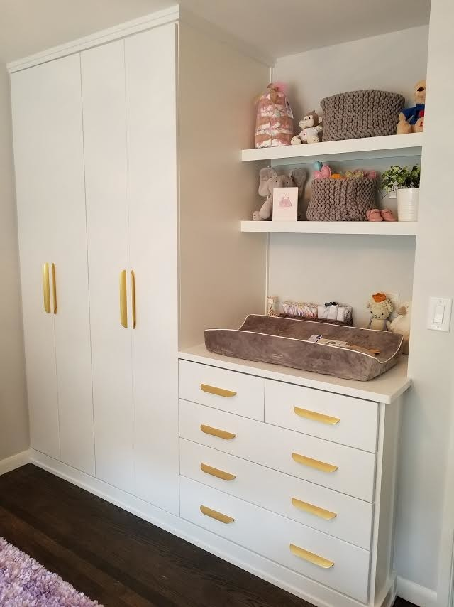 Nursery Wall Cabinets/ Storage