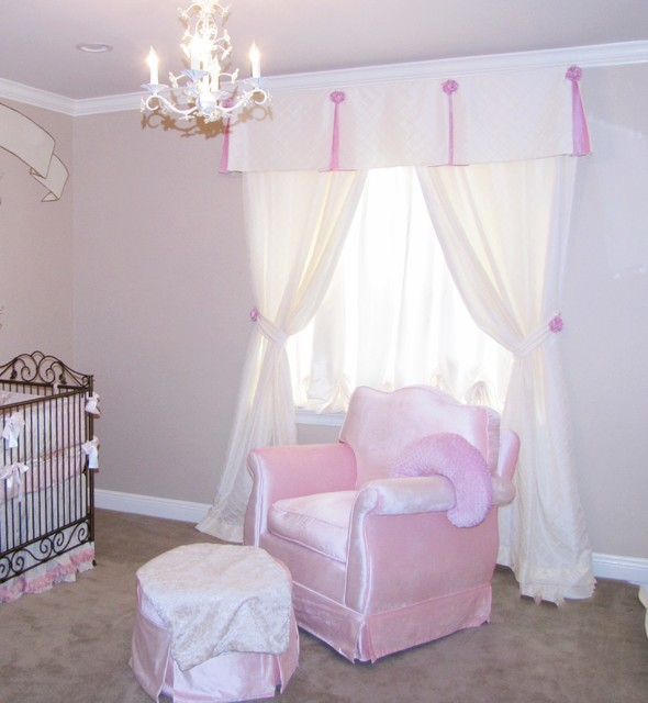 Nursery Window Treatments Traditional New