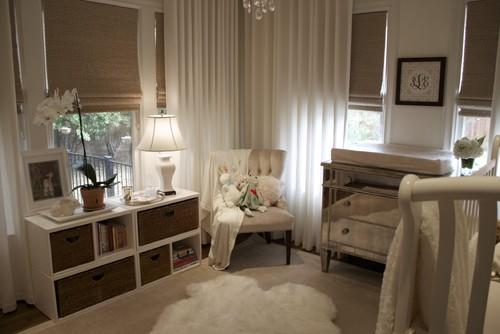 cuarto de bebe beige