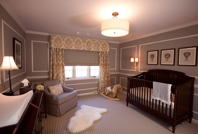 Pepper Pike French Inspired traditional-nursery
