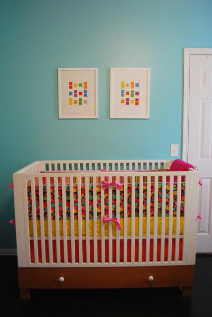 Poppie S Candy Land Room Modern Nursery Dallas