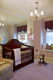Purple & Green Nursery - Mission Viejo, CA - Traditional - Nursery - Orange County
