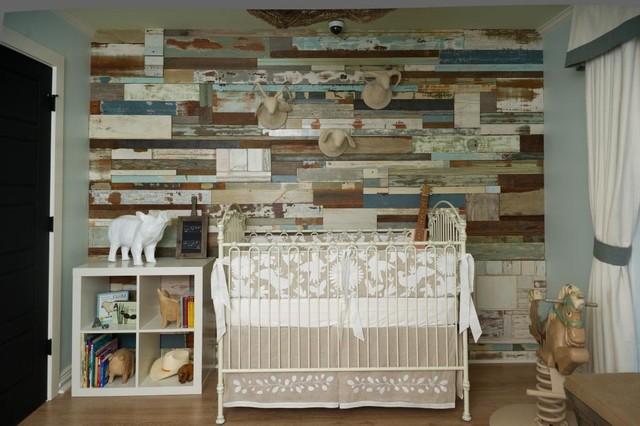 Reclaimed Wood Rustic Nursery San Diego By So Cal
