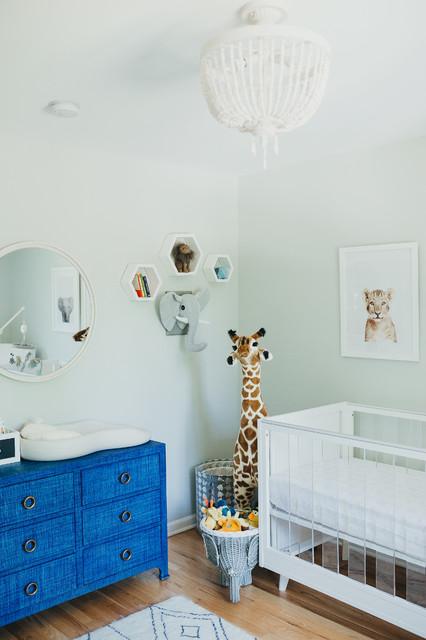 Safari Themed Nursery Contemporary
