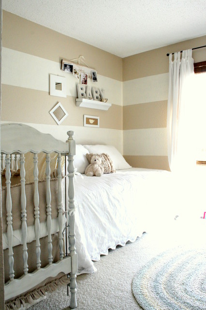 Amazing Shades Of White Baby Room Traditional Nursery