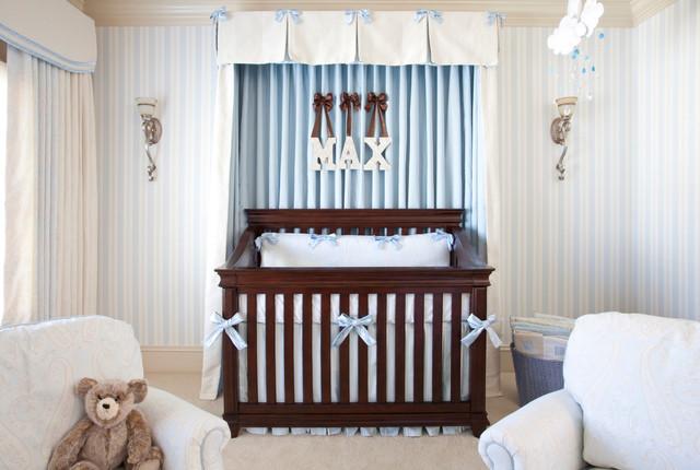 Sweet baby boy nursery traditional nursery atlanta by jennifer