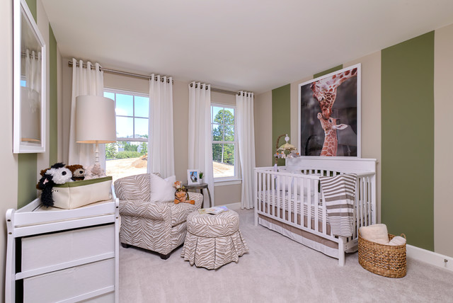 The rockland at powells landing modern nursery dc for Chambre bebe sans fenetre
