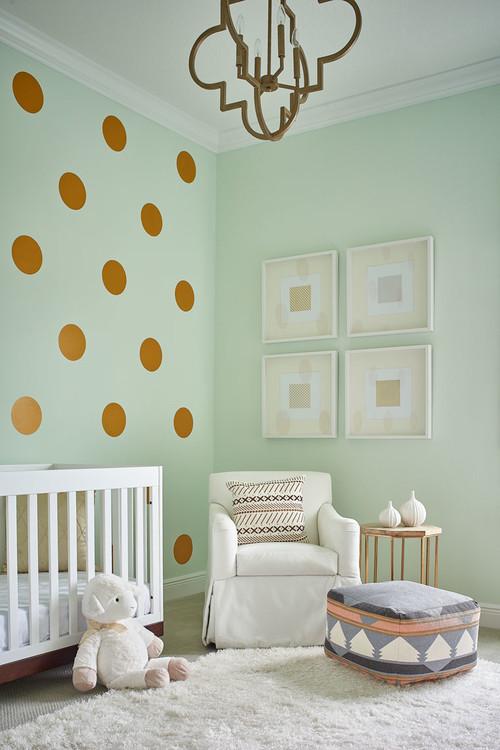 mintgroene babykamer | babykamer in mint groen | fshn forward, Deco ideeën