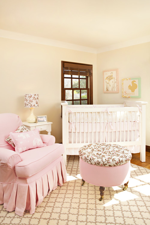 Pink Nursery Bedroom