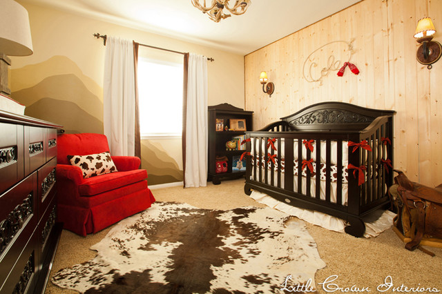 Red and Brown Boy's Western Nursery traditional-kids
