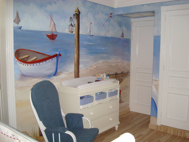 Baby Nautical Room traditional-nursery