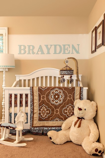 Transitional Remodel traditional-nursery