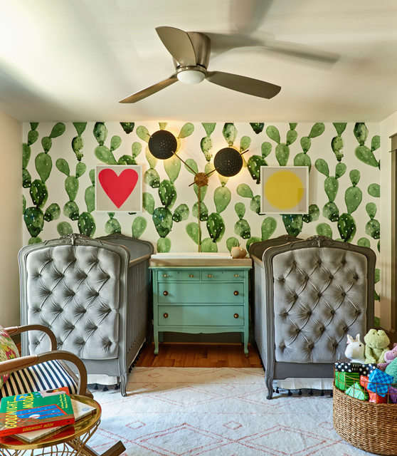 Urban Meld Eclectic Nursery Charlotte By Home Design