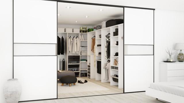 Køkken og bad inspiration   moderne   opbevaring & garderobe ...