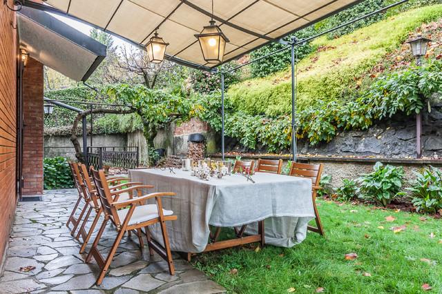 Villa margherita home staging in villa classica abitata