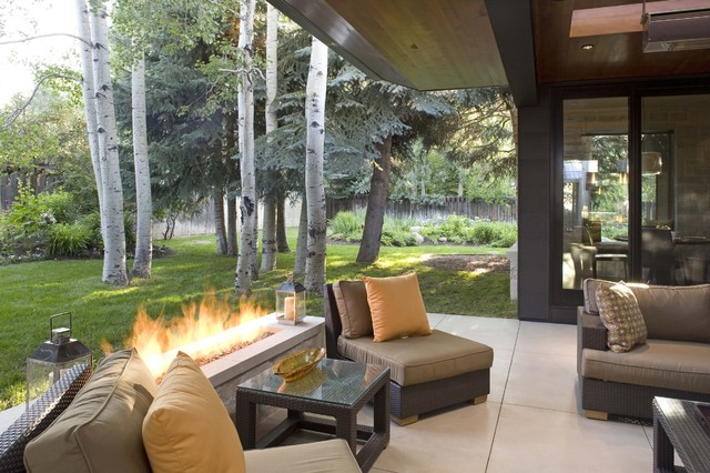 contemporary patio by ROWLAND BROUGHTON ARCHITECTURE & URBAN DESIGN