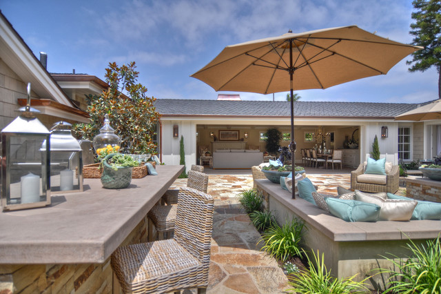 1512 Dolphin Terrace Beach Style Patio Los Angeles