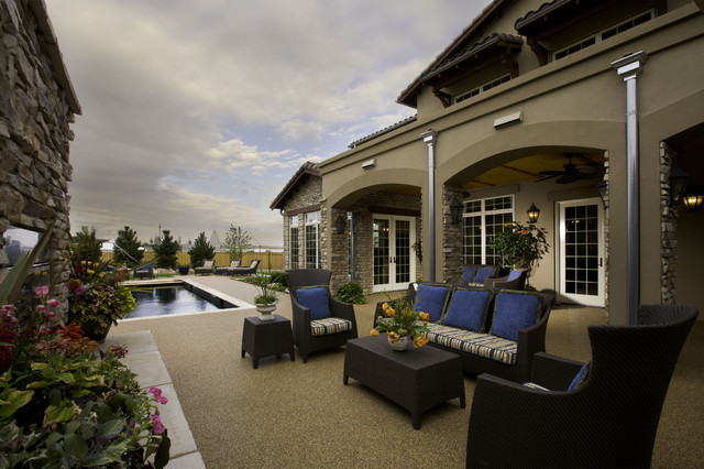 2008 Parade of Homes house mediterranean-patio