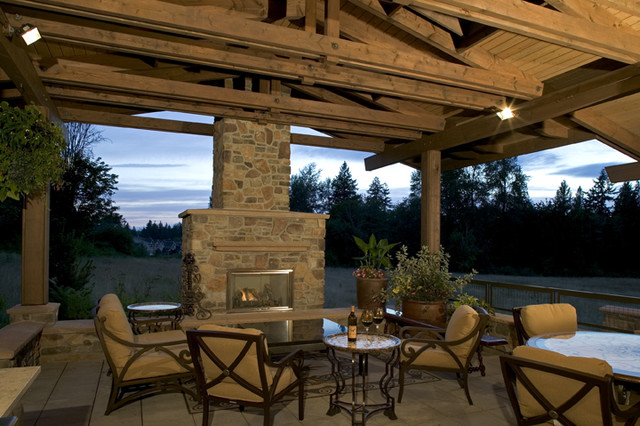 2012 Trends Outdoor Living Spaces Get The Spotlight - Patio - Seattle - By Gelotte Hommas ...