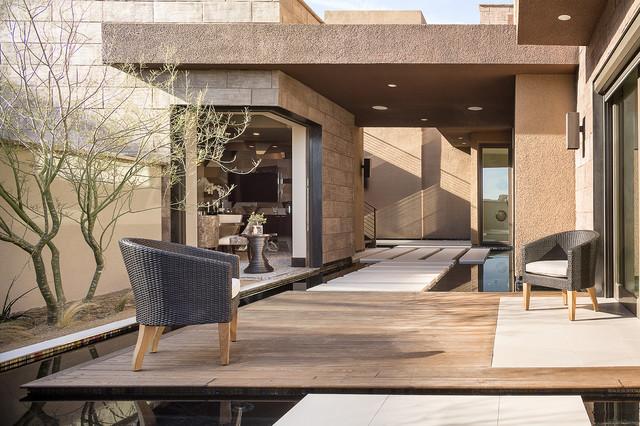 2014 New American Home Contemporary Patio Las Vegas