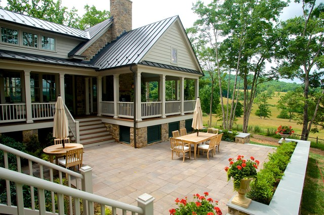 2015 Southern Living Magazine Idea House Farmhouse Patio