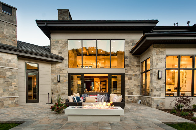 2016 Utah Valley Parade Of Homes Rustic Patio