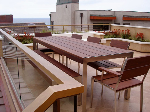 28th Street contemporary-patio