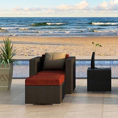 3 Pc Urbana Club Chair Set by Harmonia Living modern-patio