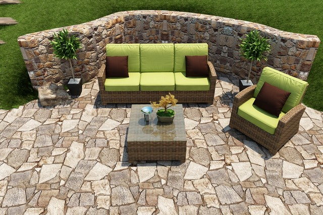 3 Piece Cypress Sofa Set by Forever Patio patio
