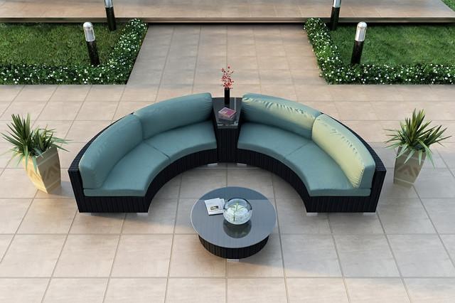 4-Pc Urbana Eclipse Sectional Set by Harmonia Living modern-patio