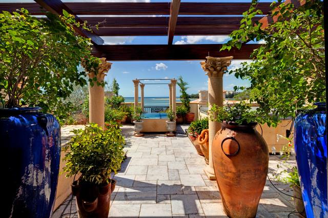 4011 Higel Siesta Key mediterranean-patio