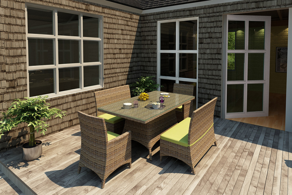 5 Piece Cypress Dining Set by Forever Patio - Contemporary ...