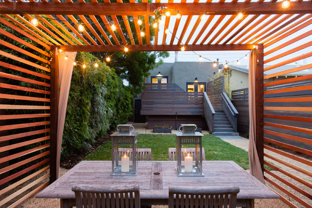 Attirant Example Of A Minimalist Gravel Patio Design In San Francisco