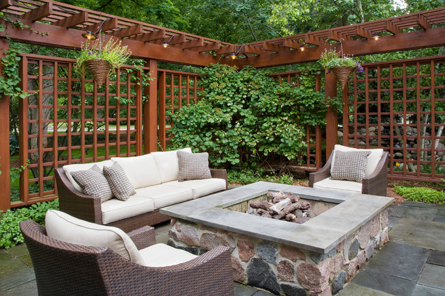 60th pl burr ridge il traditional patio chicago for Garden design ideas houzz
