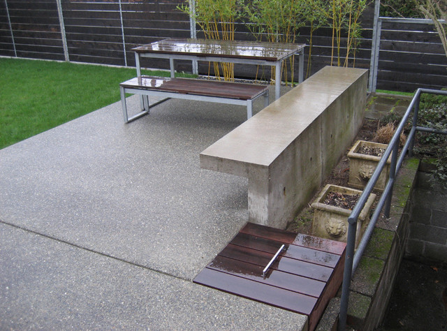 8073 Hardscape Modern Patio Seattle By Brownwork